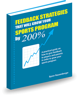 eBook Feedback Strategies that Will Grow your Sports Program, tips on coaching