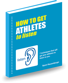eBook How to Get Athletes to Listen, coaching tips