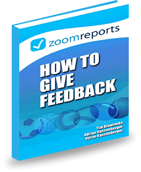 eBook How to Give Feedback, soccer coaching tips
