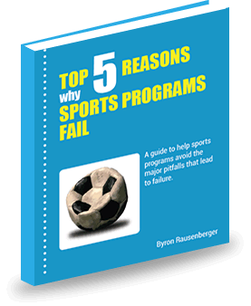 eBook Top 5 Reasons Why Sports Programs Fail, coaching tips